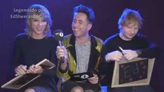 Ed Sheeran e Taylor Swift brincam de 'Eds or Taylz'?   LEGENDADO PT/BR