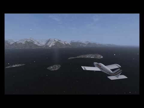 Gustavus to Excursion Inlet in the A2A Cherokee in Prepar3D v4.2