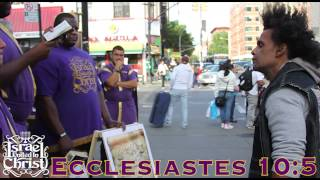 The Israelites: Christopher Columbus Destroyed You As A People, Now Your