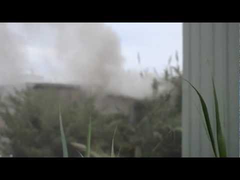 Fire At Devonshire Warehouse Nov 17 2012