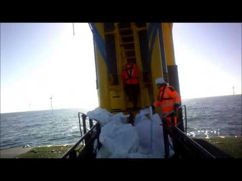 offshore transfer from boat to turbine