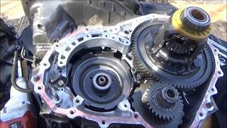 2000 Toyota Corolla A245E Transmission Teardown Part 1