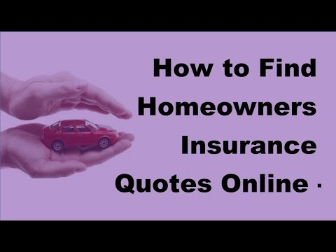 What information do i need to get a homeowners insurance quote