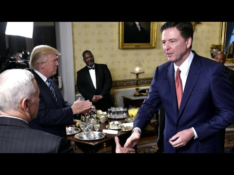 "Thumbnail: President Trump appears to threaten James Comey about conversation ""tapes"""