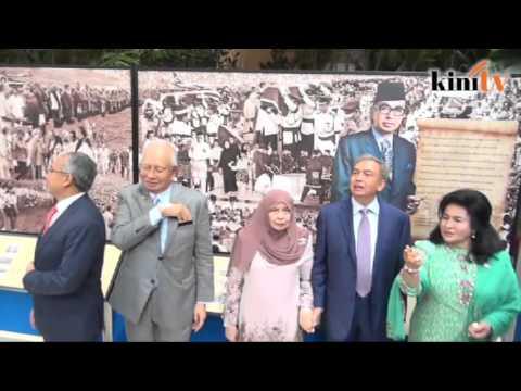 Hari bersejarah Najib dan keluarga peringati Tun Razak