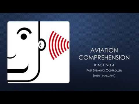 Aviation Comprehension - Fast talking controller