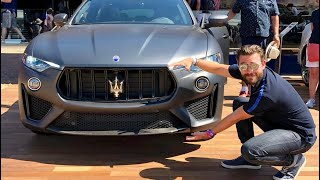 Shopping For A New SUV And It Has A Ferrari Engine! - 590hp Maserati Levante Trofeo! Video