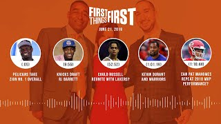 First Things First audio podcast (6.21.19)Cris Carter, Nick Wright, Jenna Wolfe | FIRST THINGS FIRST