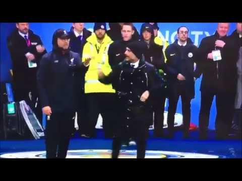 Pep Guardiola Vs Jurgen Klopp FUNNY ~ Manchester City 1-1 Liverpool (2017)