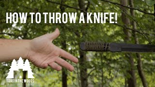 How to Throw a Knife!