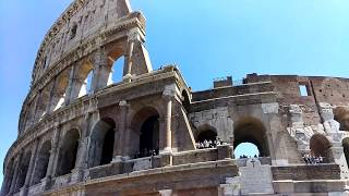 Visit to the Colosseum, Rome, Italy