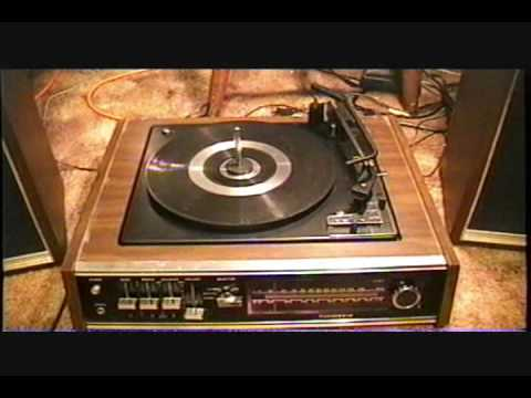 Panasonic Sd 15 Vintage Stereo Receiver And Turntable