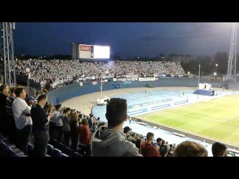 Rijeka season celebration in dinamo zagreb stadium
