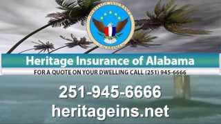 heritage insurance of alabama inc fire ice wind lightning insurance in mobile al