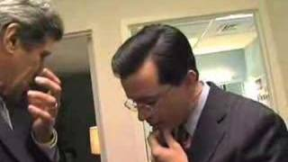 the colbert report a rare behind the scenes look