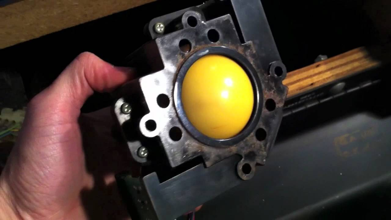How To Replace A Trackball In A Centipede Arcade Game