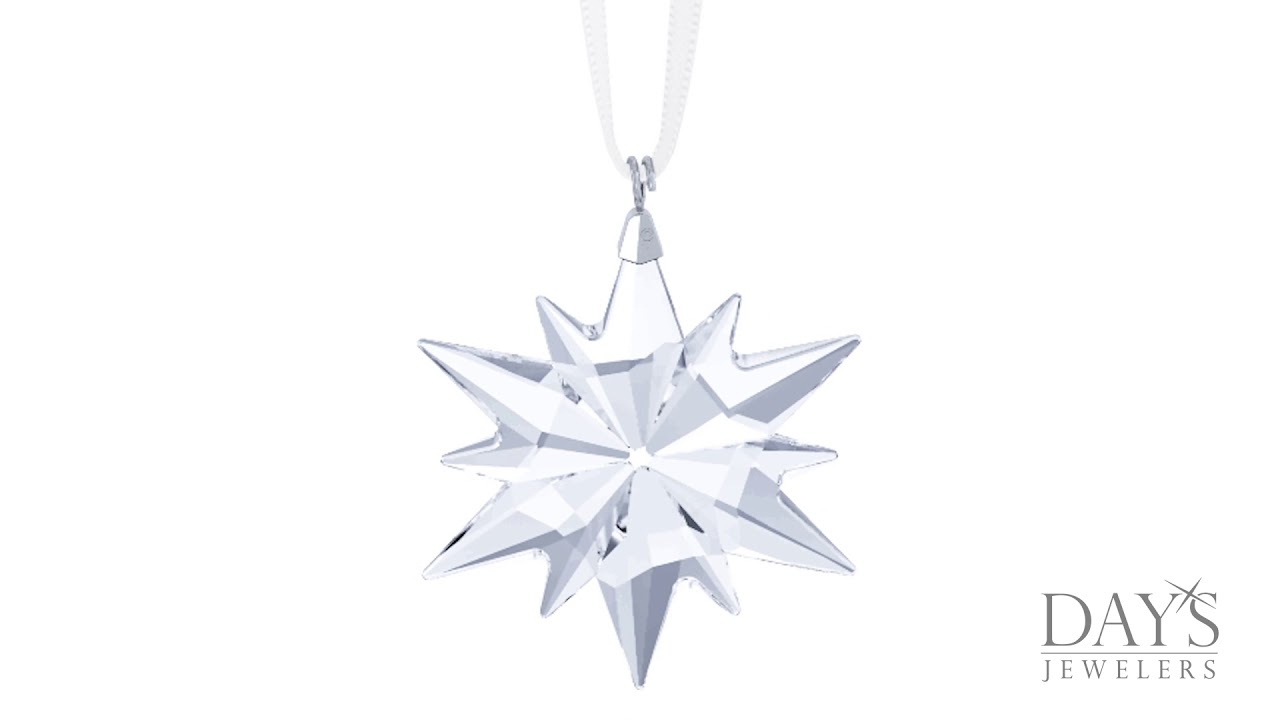 33228784a Swarovski Crystal Limited Edition 2017 Little Star Ornament - YouTube