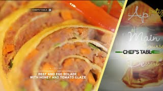 Video Chef's Table - Beef and Egg Rolade with Honey and Tomato Glaze download MP3, 3GP, MP4, WEBM, AVI, FLV Maret 2018