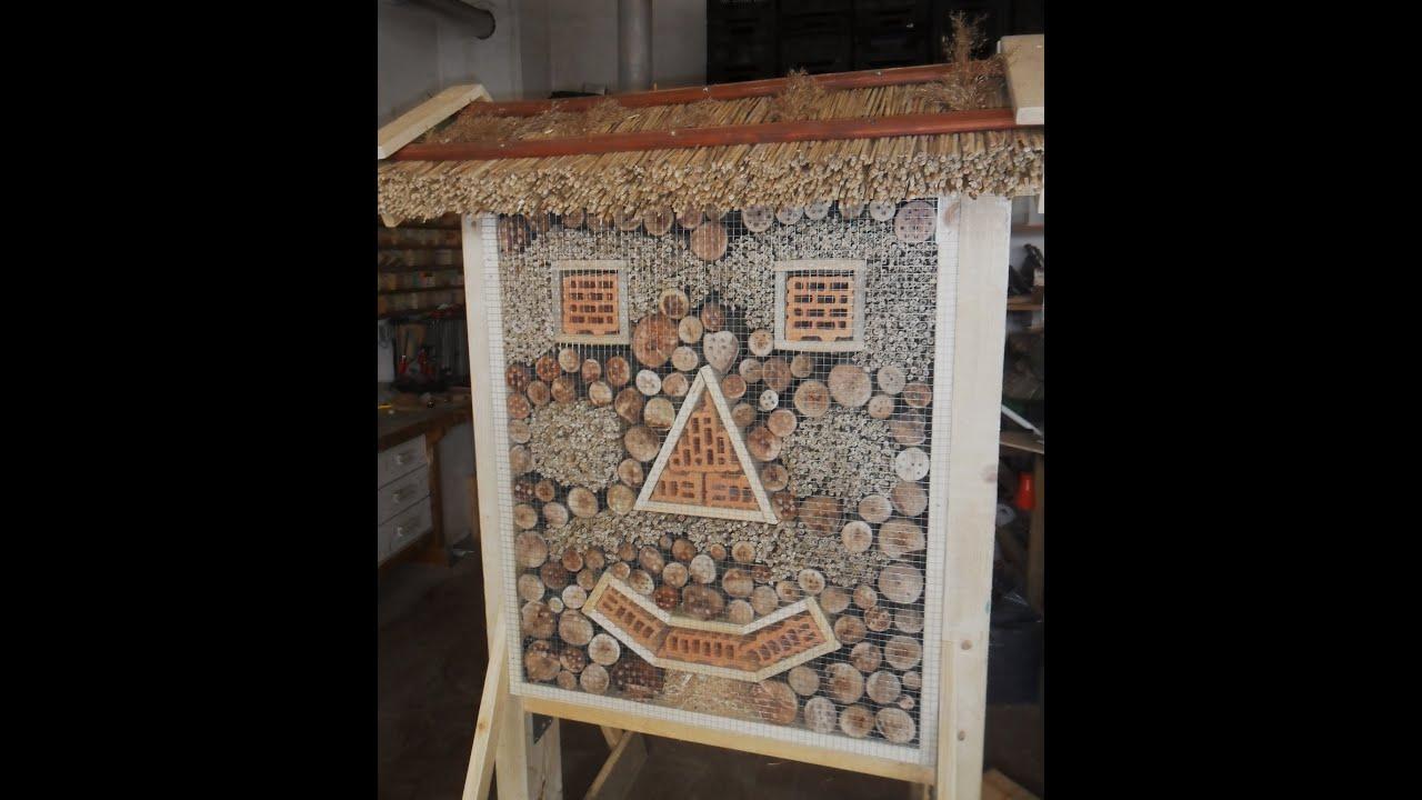 insektenhotel wildbienenhaus bienenhotel youtube. Black Bedroom Furniture Sets. Home Design Ideas