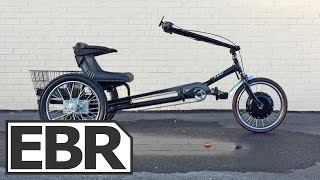 Worksman Cycles PAV3 Stretch Electric Trike Video Review - Heavy Duty, Stable, Comfortable
