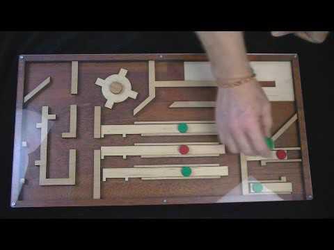 magnet maze for escape rooms youtube. Black Bedroom Furniture Sets. Home Design Ideas
