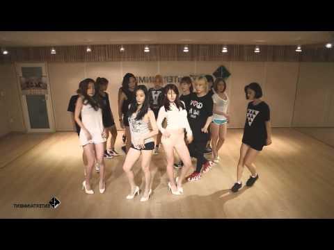 I'm In Love - Secret (Dance Practice Mirrored)