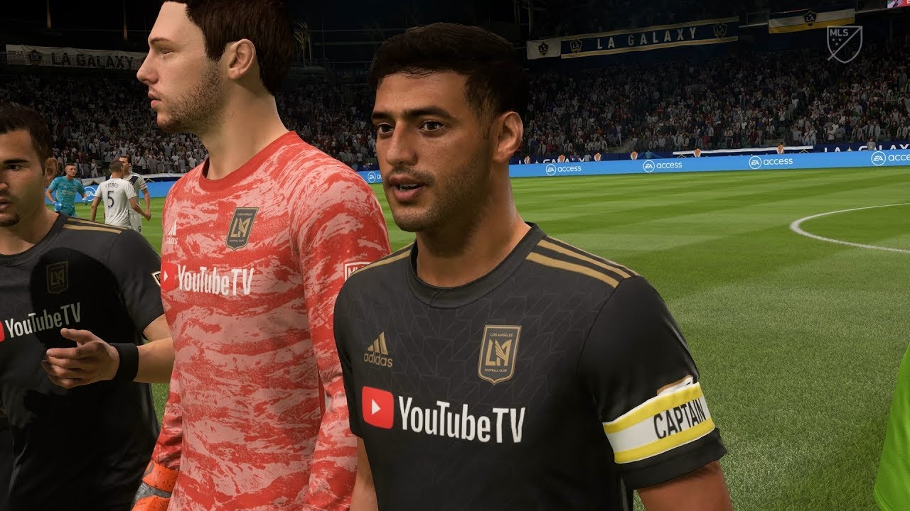 Fifa 20 La Galaxy Vs Los Angeles Fc Dignity Health Sports Park Full Gameplay Youtube