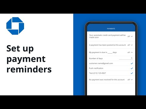 Chase Mobile® App: How To Setup An Alert For Your Credit Card Payment