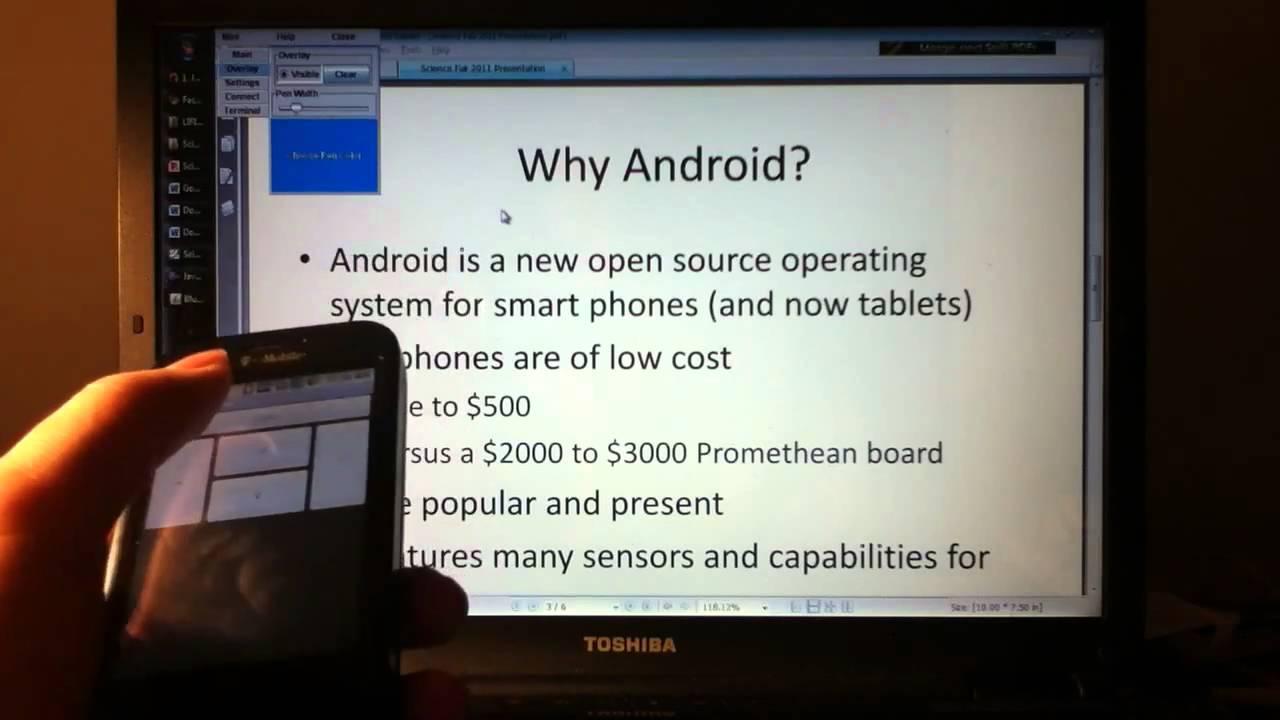 Phone Android Phone Used android phone used a bluetooth mouse google science fair youtube fair