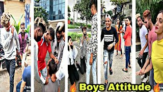 Boys Attitude New Tik tok mix tape compilation videos| sanjay dutt trending dialogue  team07 riyaz