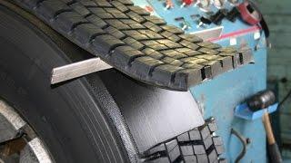 Protektirane gume - kako se prave