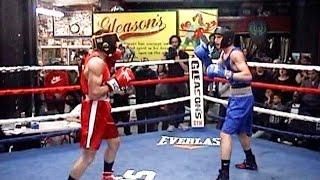 RALPH CLEMENTE / ALEXIS CHAPARRO : METRO BOXING 3/19/16 : 154 lb junior . 3 rounds