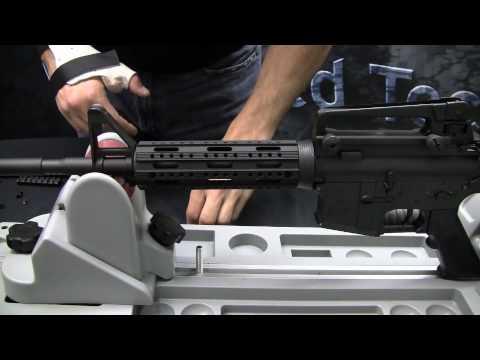 ATI AR-15 8-Sided 2 piece Forend Installation
