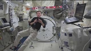 Space Station Crewmembers Discuss Life in Space with Reporters in Iowa and Texas