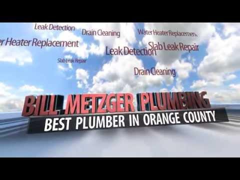 Drain Cleaning Irvine | (949) 492-3558 | Bill Metzger Plumbing