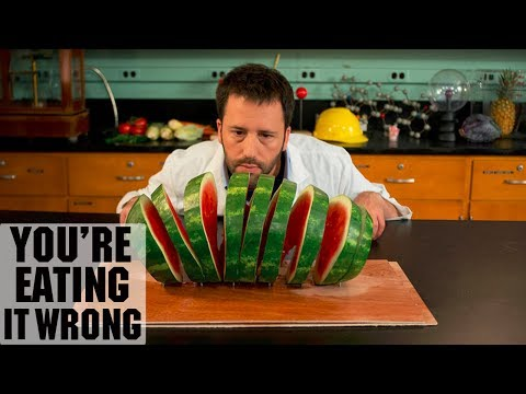 You're Eating Watermelon Wrong | Food Network