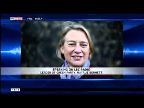 Natalie Bennett Car Crash Radio Interview On LBC