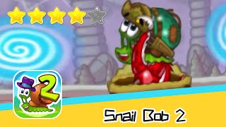 Snail Bob 2 Winter Story 26 Walkthrough Play levels and build areas! Recommend index four stars