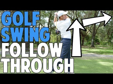 Golf Swing Follow Through In Crazy Detail