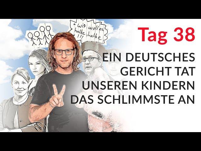 Ein deutsches Gericht tat unseren Kindern das Schlimmste an (Wechselmodell Tag 38)