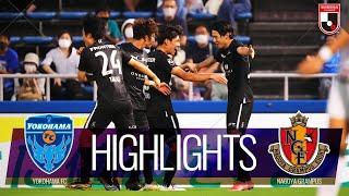 横浜FCvs名古屋グランパス J1リーグ 第23節