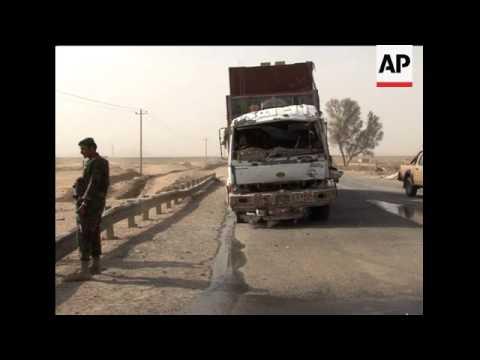 Civilians killed in suicide attack outside NATO base
