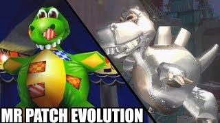 Evolution of Mr. Patch Boss Battles in Banjo Kazooie Games
