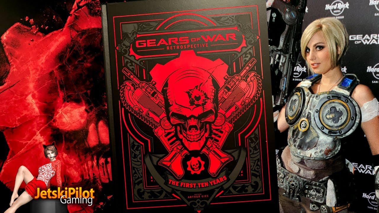Book Flip Through: Gears of War: Retrospective - YouTube