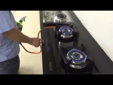 The global patent Eco-friendly safety touchpad gas stove