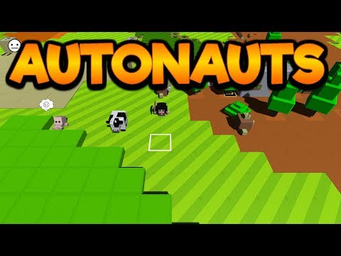 Autonauts Gameplay Impressions! - Crafting Robots Will Do The Work!