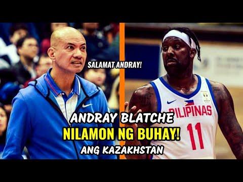 Andray Blatche NILAMON NG BUHAY Ang Kazakhstan