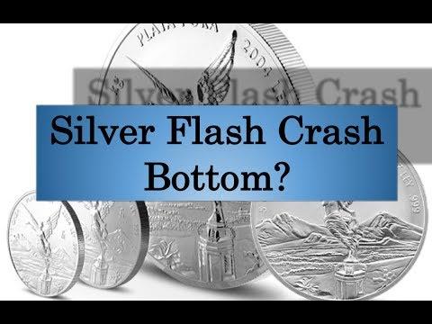 Gold & Silver Price Update - July 13, 2017 + Silver Flash Crash -- Bottom?