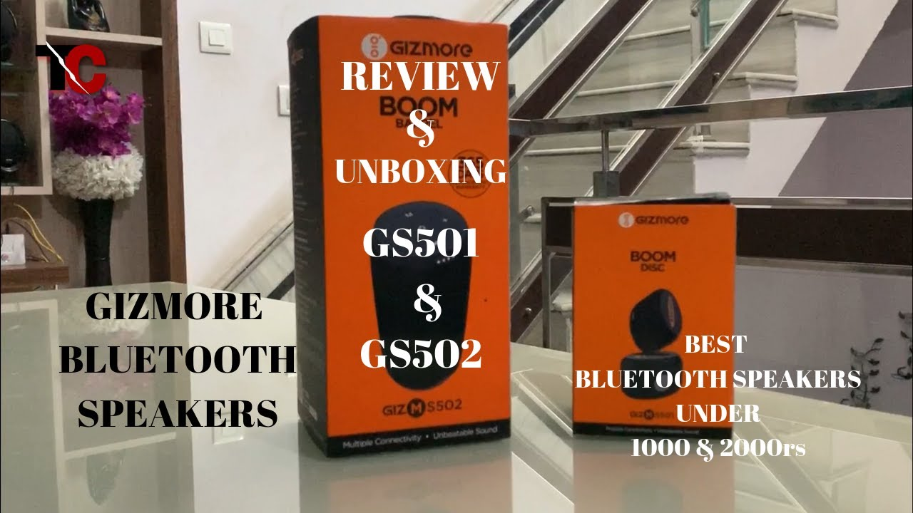 Best Bluetooth Speakers Under 1000 2000 Inr Gizmore S501 S502 Full Review Youtube