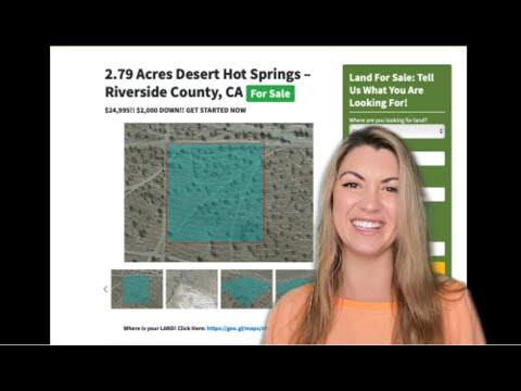 2.79 Acres Desert Hot Springs in Riverside County, CA
